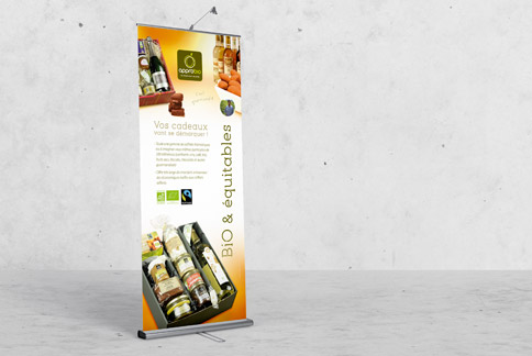 Approbio - Roll-up - Agence IMAGIC