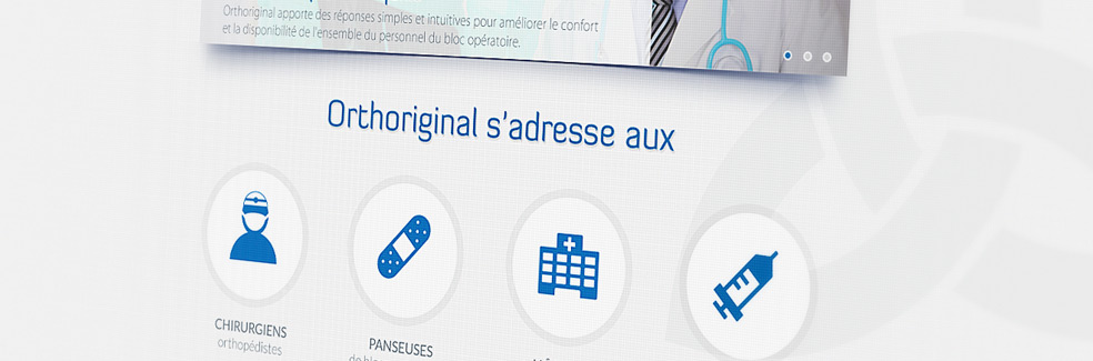 Orthoriginal - Site web vitrine - Agence IMAGIC