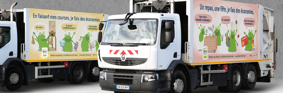 SMICTOM - Covering camion - Agence IMAGIC