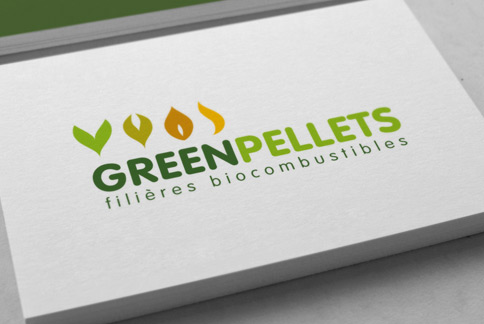 Greenpellets - Logo - Agence IMAGIC