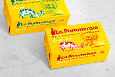 La Pommeraie - Packaging - Agence IMAGIC