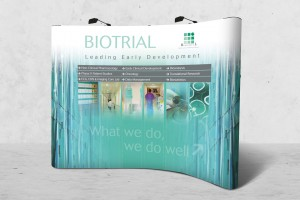 Biotrial - Stand salon - Agence IMAGIC
